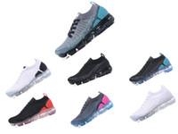 best service b8c14 11668 VENTE CHAUDE 2018 nike flyknit 1 2 New air femmes hommes hommes concepteur  de course de luxe marque chaussures sport arc en ciel BE TRUE or noir rose  ...