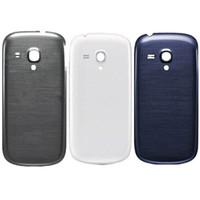 Geri Samsung Galaxy S3 Mini GT-i8190 i8190 Kapak Kılıf İçin Pil Geri Konut Kapı