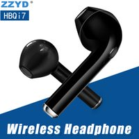 ZZYD HBQ I7 Bluetooth Earbud Single Wireless Invisible Headp...