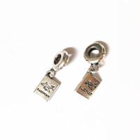 Plane Plane Dangle Alloy Charm Bead Fashion Women Jewelry Impresionante estilo europeo para bricolaje Collar de pulsera