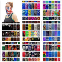Outdoor Sports Magic Scarves Seamless Scarf Ride Cross Count...