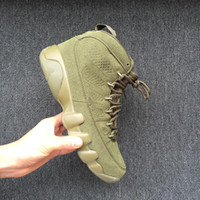 New 9 Army green men basketball shoes IX 9S sports sneakers ...