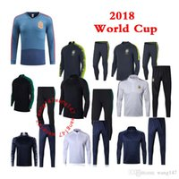 2018 World cup Spain Portugal France Brazil tracksuit MBAPPE...