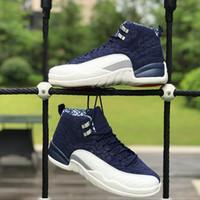 Uluslararası Uçuş 12 s Basketbol Ayakkabı BV8016-445 12 Tokyo Japonya Erkekler Spor Sneakers Boyut 40-47 KUTUSU ile Ücretsiz Kargo Yeni Varış