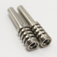 Высококачественный нецелевый титановый ногтей ручной инструмент TI Nails для стекла курительная труба нектар коллектор
