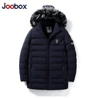 2018 New Parkas Men Parka Winter Thick Warm Epaulet Hat Deta...
