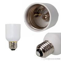 Moğol Vida Soket Lamba Adaptörü Dönüştürücü Holder E39 E40 Orta Edison Vidalı için E26 E27