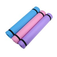 4MM Thick EVA Comfort Foam Yoga Mat for Exercise, Yoga, and ...