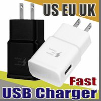OEM 5v / 2a 9V / 1.67a EU US UK plug fast charger usb home adapter per nota 4 s6 s7 s7 edge s8 s8 + s9 s9 +