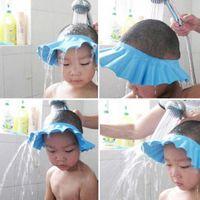 調節可能なシャワーキャップの赤ちゃんの健康のためのシャンプーのためのシャンプーのための赤ちゃんの健康剃りヘアシールドビーブ子供の入浴シャワーキャップ帽子帽子帽子