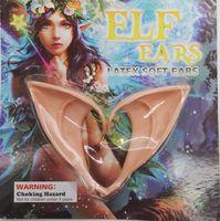 1 Orecchie Coppia fai da te Halloween Party Cosplay Tatuaggi fata Ear lattice finte orecchie puntelli del costume di Halloween del partito di Natale