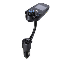 Araba mp3 çalar Yeni Araba Bluetooth Telefon Handsfree Arayan KIMLIĞI FM Verici Araç Şarj TF Kart MP3 oynamak