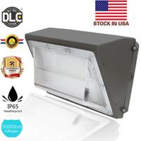 Fotosel Dahili Duvar Paketi 60 W 80 W 100 W 150 W 200 W led duvar paketi ışıkları açık led duvara monte ışık lamba