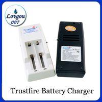 Hochwertiges Trustfire Ladegerät TR-001 Mod Ladegerät passend für 18650 18500 18350 17670 14500 10440 Lithium Batterie E Zigaretten Ladegerät
