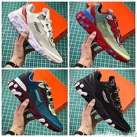 2018 yeni UNDERCOVER x Yaklaşan Tepki Eleman 87 Paket beyaz Sneakers marka Erkek Kadın Eğitmen Erkek Kadın tasarımcı Koşu Ayakkabıları zapatos