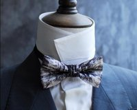 Fashion time and space light 2 series wedding bow tie fashio...