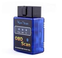 100PCS Vgate Mini ELM 327 Bluetooth V2.1 OBD Scan Elm327 BT For PC PDA Mobile Read Diagnostic Trouble Codes
