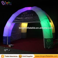 Free shipping LED Lighting Inflatable Dome Tent 5mx5m 4 legg...