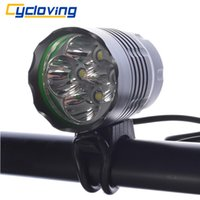 사이클링 4T6 LED 자전거 라이트 자전거 헤드 라이트 LED 자전거 라이트 5200 루멘 알루미늄 방수 사이클링 액세서리