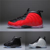 best sneakers 674a7 268d9 Nike air Hardaway Diseñador Barato NIÑOS Zapatos de baloncesto One Penny  Hardaway Tenis de niños ESPUMA Berenjena Zapatos deportivos de baloncesto  ...