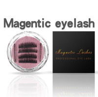 Three Magnetics Eye Lashes 3D Mink Reusable Dual False Magnet Thick Eyelashes Extension 3d eyelash extensions magnetic eyelashes 6pcs/set