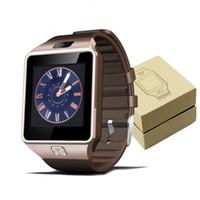 6a1a50f85db Dz09 smart watch dz09 relógios pulseira android assista smart sim inteligente  do telefone móvel estado do