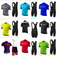 2018 New CUBE Pro Men Team Cycling Jersey Set MTB Short Slee...