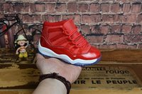 Nike Air Jordan 11 Gym Red XI 11 Zapatos para niños Bred Space Jam Niños Basketball Sneaker Concord Gamm Blue Newborn Baby Infant 11s Zapatos casuales con caja