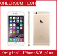 Remodelado desbloqueado iPhone da Apple Original 6/6 Além disso 4G LTE Smartphone sem impressões digitais telemóvel 4,7 5,5 polegadas 2GB RAM 16/64 / 128GB ROM
