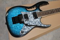 Wholesale High Quality JEM 7V blue ocean Electric Guitar, Sku...