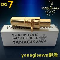Yüksek kaliteli orijinal sürüm Yanagisawa saksafon metal ağızlık alto / Soprano / tenor / metal ağızlıkNO5-9 ücretsiz kargo
