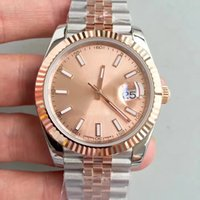 Hot top brand luxury watch rolees day just 126331 rose gold ...