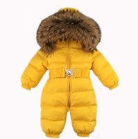 Winter Baby Snowsuits kids Jumpsuit 18M- 4T Boy Girls Warm na...