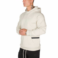 mens Hooded sweatshirt hoodies gyms Fitness workout Fashion ...