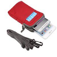 Étui universel pour sac de sport à clip de ceinture multifonctionnel pour lame ZTE G Lux / G Pro / Q Lux 4G / V8Q / V9 Vita / L7 / V8C / A330 / A520C / Vantage / E01 / E02