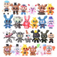 Free DHL 24 Pcs Set Five Nights At Freddys Freddy toys 5- 7cm...