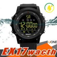 블루투스 스마트 시계 EX17 긴 대기 시간 Smartwatch를 팔찌 IP67 방수 수영 피트니스 추적기 안드로이드 스포츠 Watchs