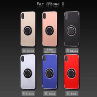 For Iphone X 8 8plus 7 7plus 6plus Ring Holder Case TPU+ PC +...