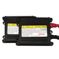 2 pcs 35w DC12V bloques de encendido de balasto xenón Color negro h9 hid kit balasto digital H1 H3 H4 H7 H8 H9 H10 H11 H13 880 881 9003