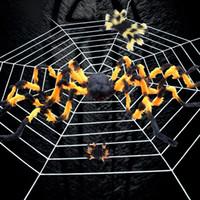 العنكبوت هالوين أفخم لعب أسود متعدد الألوان العنكبوت منزل مسكون بار حزب احتفالي الدعامة المرحلة داخلي لوازم عيد الميلاد هدية WX9-968