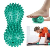 Peanut Shape Massage Yoga Sport Fitness Ball Durable PVC Str...