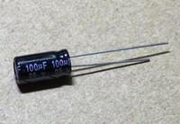 100PCS 25V10UF 4 * 7 mm 10UF 25V 4 * 7 condensador electrolítico