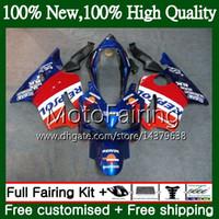 HONDA CBR 600F4i 본체 Repsol blue CBR600 F4i 04 05 06 07 45MF14 CBR 600 F4i CBR600 FS CBR600F4i 2004 2005 2006 2007 페어링 차체