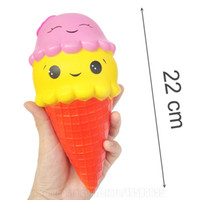 22cm Squishy Jumbo Toys Big Squishies Slow Rising Ice Cream ...