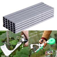 10000 teile / los Klebeband Werkzeug Binder Nagel-windel Für Binden Tapetool für Pfropfen Maschine Garten Beschneiden Werkzeuge tapetool