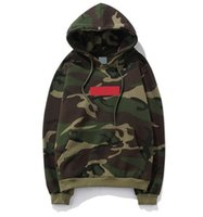 2018 Hot Pullover Hoodies Summer New Classic camouflage Embr...