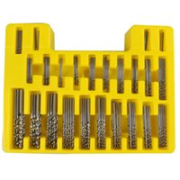 kit cake 150Pcs Set 0. 4- 3. 2mm Mini Drill Bit Set HSS Microte...