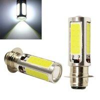 2X H6M PX15d alta qualidade Xenon Branco COB LED Para ATV Car Motor Bike Headlight Bulb Fog Light Lamp DC12V
