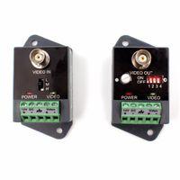 1 canal vidéo balun émetteur récepteur actif Power Video Balun CCTV support 2400 mètres HDTVI HDCVI AHD-HD actif Balun