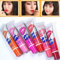 1pcs vendita calda marca famosa bellezza rosso romantico orso wow trucco impermeabile rossetto opaco lip gloss impermeabile lip gloss